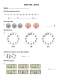 Everyday Math - Unit 1 Review Worksheet
