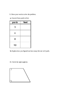 Everyday Math Unit 1 Study Guide