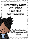 Everyday Math Unit 1 Test Review 2nd Grade