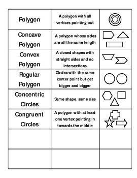 Everyday Math Unit 1 Vocabulary Cards - Grade 4