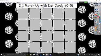 Everyday Math Unit 2 - 1 Match Up with Dot Cards