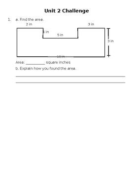 Everyday Math Unit 2: Assessment