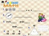 Everyday Math Unit 2 Morning Math SMARTBoard
