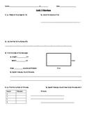Everyday Math Common Core Unit 2 Review, Grade 4