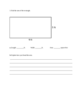 Everyday Math Unit 2 Study Guide-4th Grade