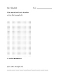Everyday Math Unit 2 Study Guide-4th Grade