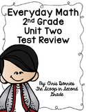 Everyday Math Unit 2 Test Review 2nd Grade
