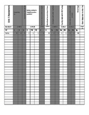 Everyday Math4 B-O-Y, Unit 1, and 2 Grade Sheet