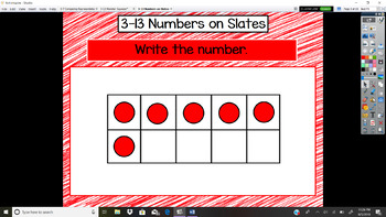 Everyday Math Unit 3 - 13 Numbers on Slates