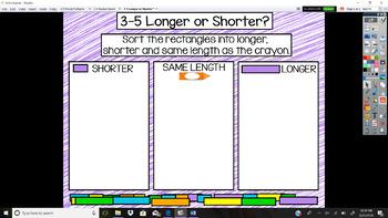 Everyday Math Unit 3 - 5 Longer or Shorter
