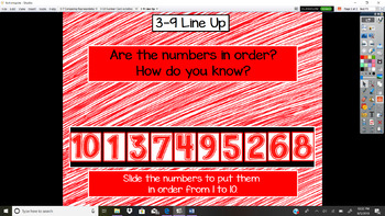 Everyday Math Unit 3 - 9 Line Up
