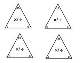 Everyday Math Unit 3 Check for Understanding Cards - Grade 4