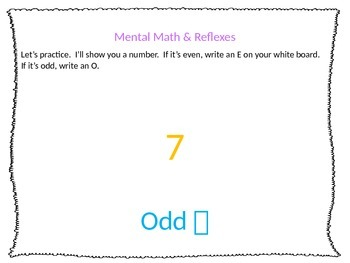 Everyday Math Unit 3 Lesson 14 First Grade PowerPoint