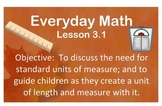 Unit 3 Lessons {Bundled Pack} 2007 EDITION. Everyday Math.