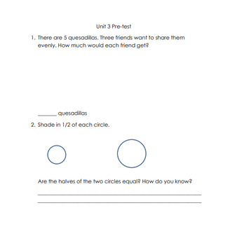 Everyday Math Unit 3 Review