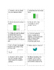 Everyday Math Unit 3 Review Game