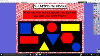 Everyday Math Unit 4 - 1 Attribute Blocks