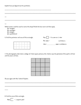 Everyday Math Unit 4 Review