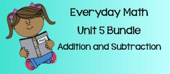 Everyday Math Unit 5 BUNDLE