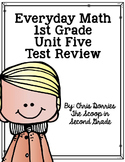 Everyday Math Unit 5 Test Review 1st Grade