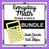 Everyday Math Unit 6 BUNDLE!