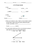 Everyday Math Unit 6: Study Guide