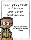 Everyday Math Unit 7 Test Review Second Grade