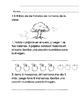 Everyday Math-Unit 7 Kindergarten Exit Slips in Spanish