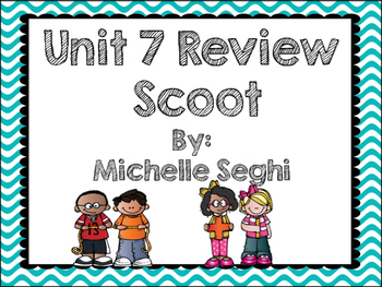 Everyday Math Unit 7 Task Cards (Scoot)