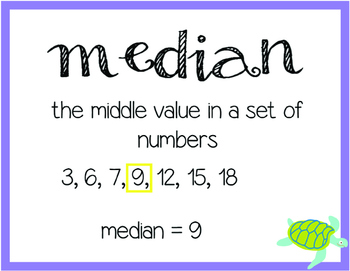 Everyday Math Unit 7 Vocabulary Cards
