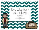 Everyday Math Unit 8 I-Spy Game for 2nd grade