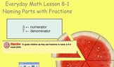 Unit 8 Lessons {Bundled Pack} 2007 EDITION. Everyday Math.