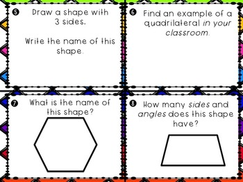 Everyday Math Unit 8 Task Cards (Scoot)