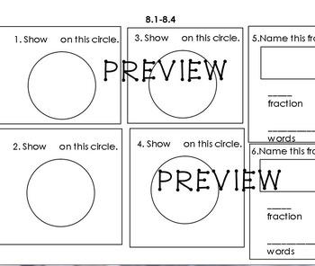 Everyday Math Unit 8 grade 2 quiz
