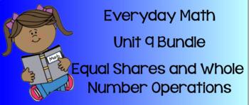 Everyday Math Unit 9 BUNDLE