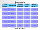 Everyday Math Unit 9 Jeopardy Review