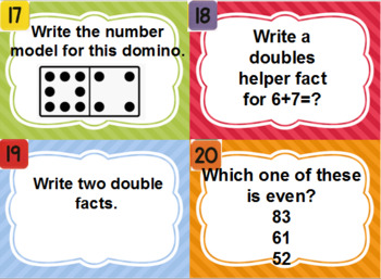 Everyday Math Unit 9 Review Scoot Game
