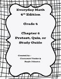 Everyday Math Version 4 Grade 4 Unit 6 Pretest/Review