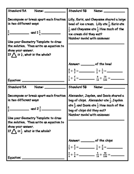Everyday Math Version EM4 Grade 4 Chapter 5 Exit Slips