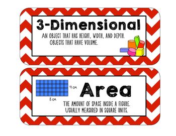 Everyday Math Vocabulary, Unit 1 5th Grade