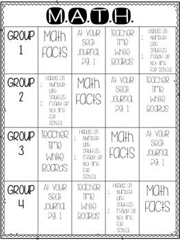 Everyday Math Workshop Unit 1