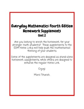 Everyday math homework help