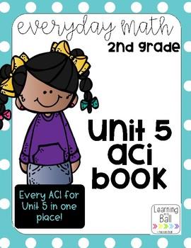 Everyday Math 4 (EM4)  - Unit 5 ACI Booklet for Second Grade!