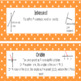Everyday Mathematics 4 Grade 5 Word Wall Cards for Unit 4