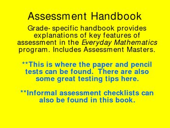 Everyday Mathematics Components and How They Can Be Used Effectively