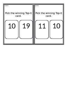 Everyday Mathematics First Grade Math Review Game: Unit 1