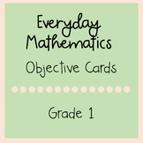 Everyday Mathematics Grade 1 Objective Cards