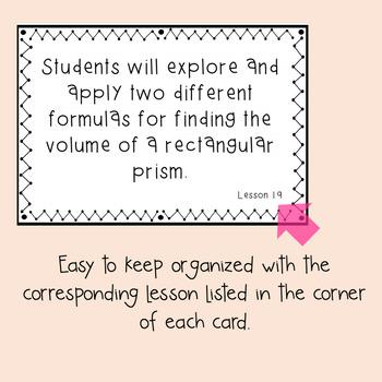 Everyday Mathematics Grade 5 Objective Cards