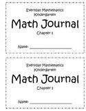 Everyday Mathematics Kindergarten Math Journal Chapter 1