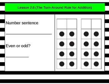 Everyday Mathematics Lesson 2.6